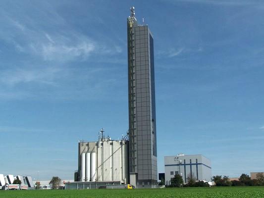 Getreidesilo Schapfenmühle, Ulm