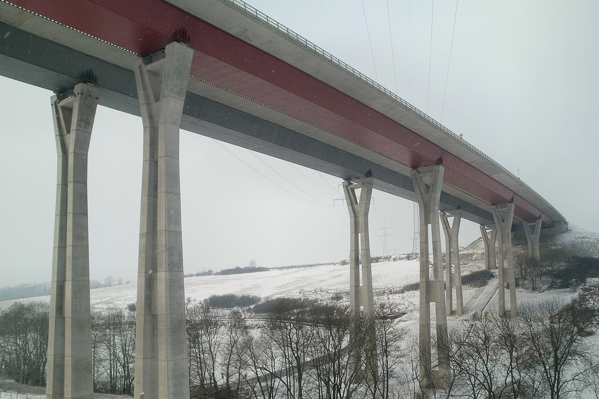 Nessetal Bridge - Peter und Lochner Ingenieure