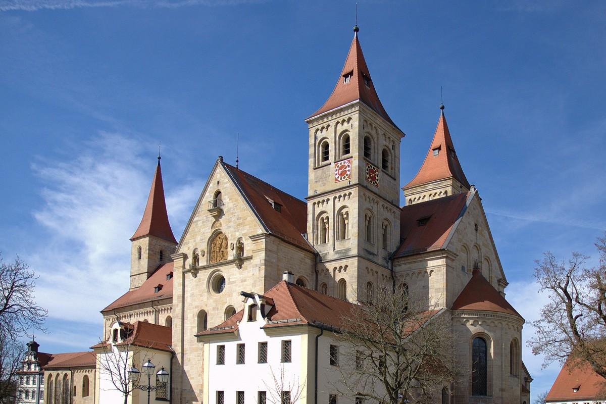 Sanierung Basilika Ellwangen Ansicht